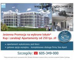 Apartamenty kup i zarabiaj na apartamencie!